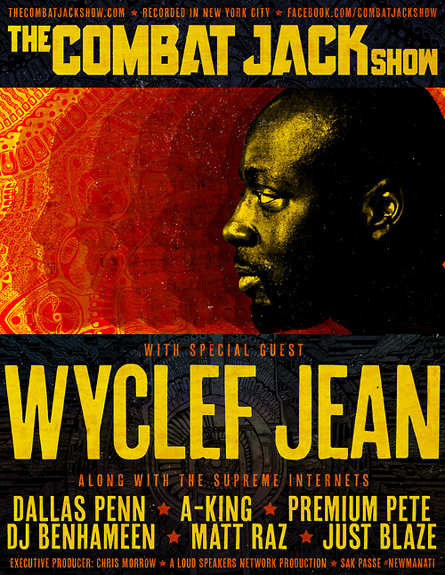 wyclef flyer design