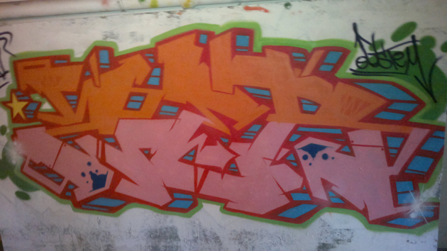 zer graffiti latina