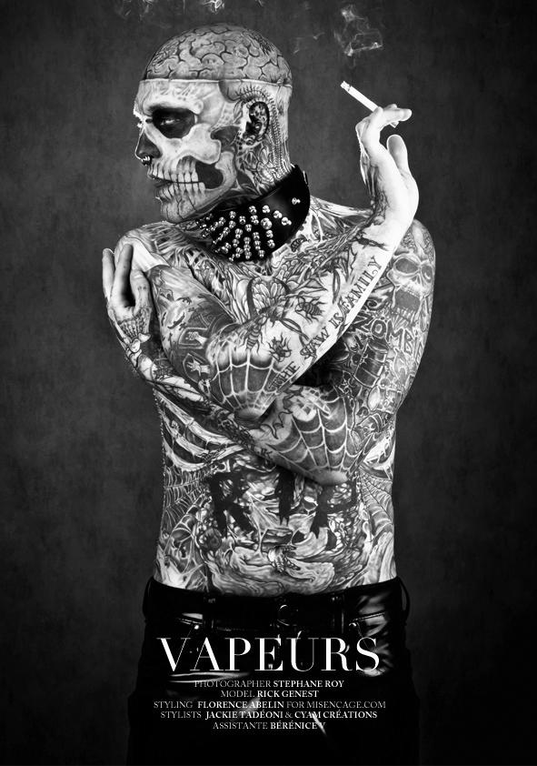 zombie boy factice magazine