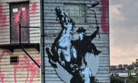 Zorro by Banksy