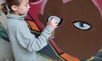 11 Year Old Girl Graffiti Writer