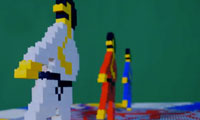 8-Bit Trip Lego Animation