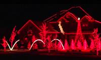 Musical Christmas Light Houses
