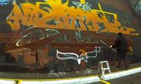 Art Child & Recka Graffiti in Toronto