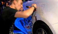 Caparso Graffiti on an Audi A1