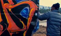 Augor Graffiti in Big Bear