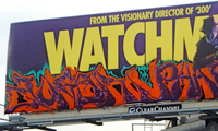 Augor & Pharoe Watchmen Billboard