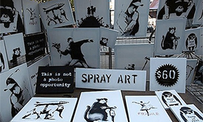 Banksy Paintings Sold on the Street for $60