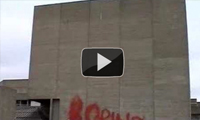 Banksy Using Fire Extinguisher