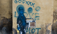 Banksy Graffiti Dissed