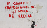 "Banksy – ""If Graffiti Changed Anything"""