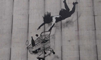 More Banksy Street Art in London