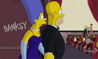Banksy on the Simpsons Again