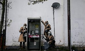 Spying Banksy