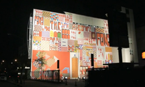 Barry McGee Mural at the Brooklyn Academy of Music