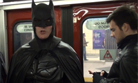 Batman Protects the Streets of Toronto