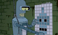 Bender is Space Invader