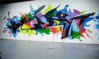 Sueme & Berst Graffiti Name Swap