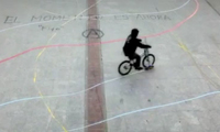 Painting the Streets with Bikes