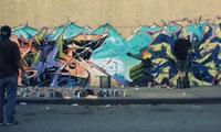 Bio vs Ces Graffiti Battle