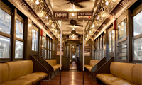 'Boardwalk Empire' Vintage Subway Train