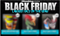 Bombing Science Black Friday Sales