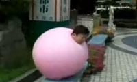 Bouncy Ball Man