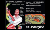 By What Authority – Graffiti Art Show