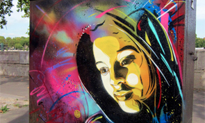 New Stencil Art from C215
