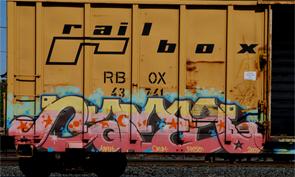 Freight Graffiti No. 89
