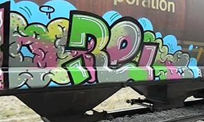 Canadian Wheatie Graffiti