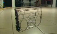 Watch This Unraveled Cassette Tape Become a Boom Box