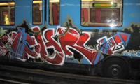 Ether, Utah & Ochre Monteal Graffiti