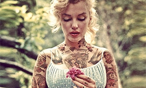 What famous celebrities would look like with tattoos