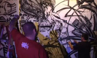 David Choe, Retna, Saber and Alex Pardee Video