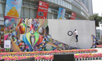 Chor Boogie Mural China Olympics