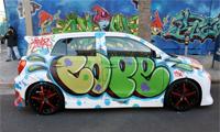 Cope2 Graffiti On A Scion