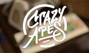 Crazy Apes Graffiti in Rochester, NY