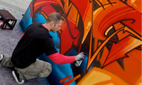 Crem & Storm Graffiti for Ecko