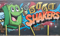 Dabs & Myla Graffiti – Dice Shakers