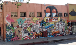 Dabs, Myla, Rime, How & Nosm Mural