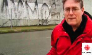 Demos Graffiti on CBC News