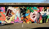 Mace, Demos, Hype & Jnasty Graffiti