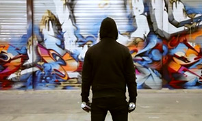 Does Graffiti in a Warehouse