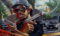 Legends of Hip Hop Justin BUA and DMC – of Run DMC