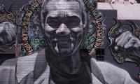 El Mac, Retna & Estevan Oriol – LA Skid Row Mural