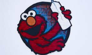 Sesame Street art Opening Photos