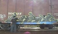 Ensoe Painting Boxcar