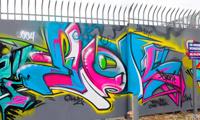 Ewok Graffiti Video from Miami
