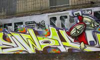 Ewok Graffiti at Tuff City NYC